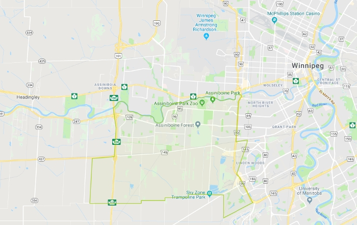 Charleswood Map
